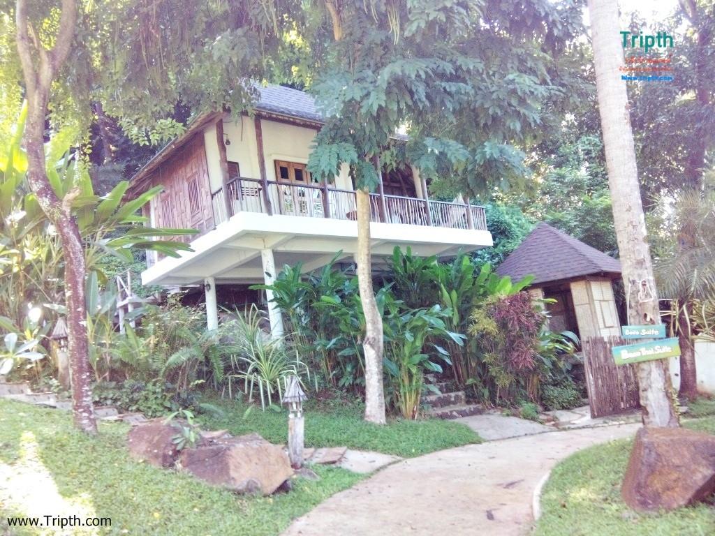 บ้านพักอีกแบบที่ เกาะหมากโคโค่เคป รีสอร์ท