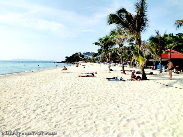 หาดแสม ขาวมากกกกก