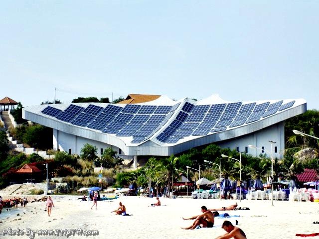 อาคารอนุรักษ์พลังงานรูปปลากระเบน