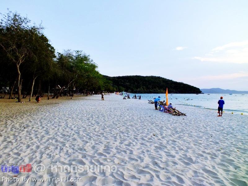 หาดทรายแก้ว ยามเย็น