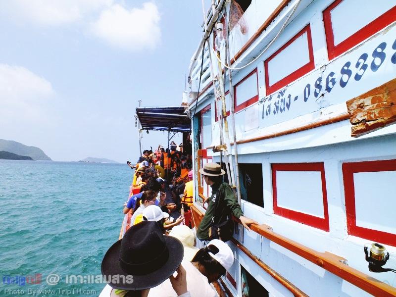 เรือไปเกาะแสมสาร